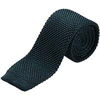 Cravatta DonDon Uomo retro 5 cm di (Oro A Strisce Cravatta)