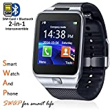 Best inDigi Smartwatches - Indigi® remplacer 2en 1Gear Smartwatch et téléphone + Review
