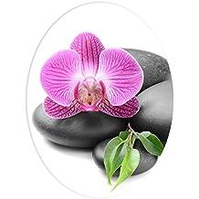 """Wandkings WC Sticker """"Orchidee"""" Deckel Aufkleber 30 x 40 cm"""