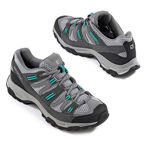 Salomon - Sherbrooke 2 w grise - Chaussures marche randonnées Gris clair