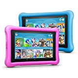 Fire HD 8 Kids Edition Tablet Variety Pack, 32 GB, (Blau/Pink) kindgerechte Hülle