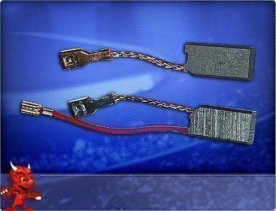Preisvergleich Produktbild Kohlebürsten Hilti Bohrhammer TE 54 TE 55 Meißelhammer TE 504 TE 505 mit Meldelitze