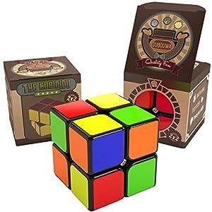 Dubiduwa The CUBIDIDU 3×3 – Magic Cube – Er lässt Sich schneller und präziser drehen als Das Original / Der Klassische…
