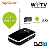 MyGica® mobile Receptores de TDT sintonizador de TV inalámbrico y móvil para DVB-T -Para iPhone / iPad / Android Teléfono inteligente / tablet - reloj Digital TV (WiFi TV)