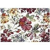 Alfombra estilo moderno floral – Alfombra de diseño Sitap – disponible en 4 tamaños Capri 32527 – 6369
