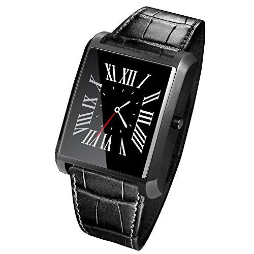 Lemfo LF20Bluetooth Smart Watch MTK2502Herzfrequenz-Monitor, 1,54 Zoll IPS Bildschirm, für iPhone und Android Smartphone.