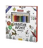 Stabilo Livre de coloriage pause créative Rêve d'hiver
