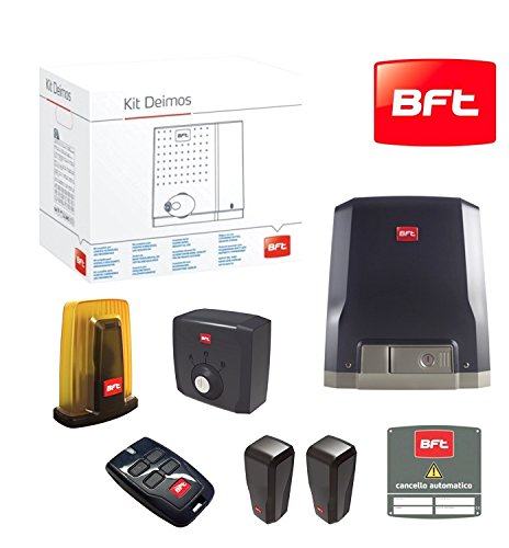 BFT Sliding Gate Automatic Deimos Kit with 230 V Motor up To 600 kg for  Residential Use and Business r92528000002
