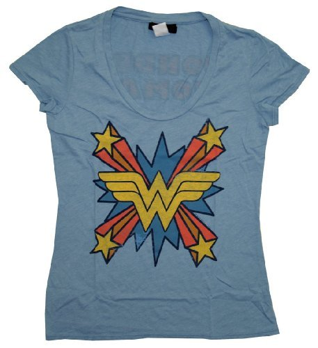 tv-store-wonder-woman-the-skipper-logo-scoop-neck-mystic-blue-juniors-t-shirt-juniors-medium