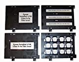 OEM Epson Perfection v800 Scanner - Set completo - Porta slide, 35 mm, 120 220 620 formato medio, guida 4 x 5