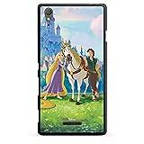 DeinDesign Sony Xperia T3 Style Hülle Schutz Hard Case Cover Disney Rapunzel verföhnt Merchandise Geschenke