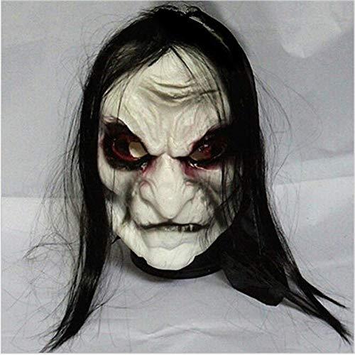 xikaiai Halloween Zombie Erwachsene Ungiftig PVC Maske Ghost Festival Horror Scary Ekelhaft Vollmaske Kostüm Party Cosplay - Spider Mann Das Erste Kostüm
