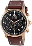 Cerruti 1881 Herren-Armbanduhr XL TERRA Analog Quarz Leder CRA081C223G