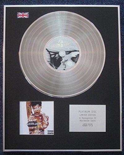 Century Presentations Rihanna CD Platinum LP Disc Limited Edition Unapologetic