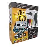 Wisenovo USB Video Grabber - Scheda Acquisizione Video Convertitore VHS in Dvd per Mac OS 10.12 & Windows 10