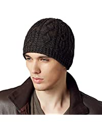 1a47c825507 Kenmont Winter Men Male Wool Acrylic Knit Outdoor Ski Hat Beanie Cap
