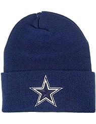Dallas Cowboys NFL Knit Cuff Beanie Cap Hat Authentic & NEW Navy by Dallas Cowboys Authentic Apparel