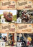 Best Of - Augsburger Puppenkiste - Urmel aus dem Eis + Kater Mikesch + Urmel spielt im Schgloss + Kleiner König Kalle Wirsch 4 DVD remastered Edition