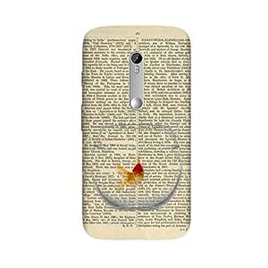 PaperGoldFish Case for Motorola Moto G3 (3rd Gen)