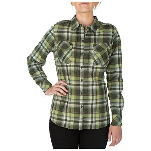 5.11Damen Heartbreaker Flanell Shirt, Damen, Swamp 5.11 Tactical Tactical Flannel
