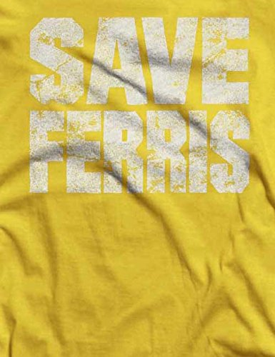 Save Ferris T-Shirt S-XXL 12 Farben / Colours Gelb