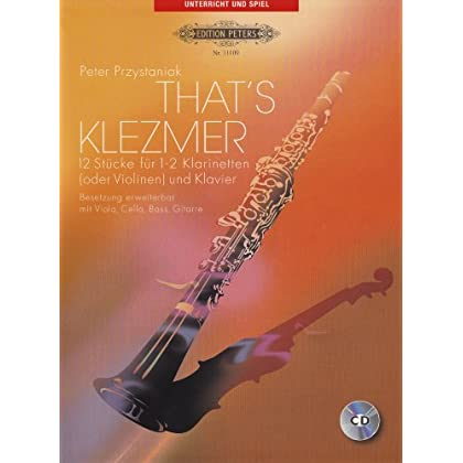 That'S Klezmer 1(2)  Clarinette +CD