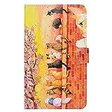 Galaxy Tab A 7.0 Étui Housse, Coque Folio Case Stand Housse de Protection avec...