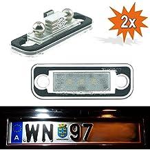 2x LED Kennzeichenbeleuchtung Mercedes C-Klasse S203 T-Model C 200 CDI 1103