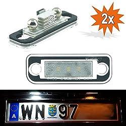 Do!LED 1103V2 LED Kennzeichenbeleuchtung mit E-Prüfzeichen Xenon Optik ...