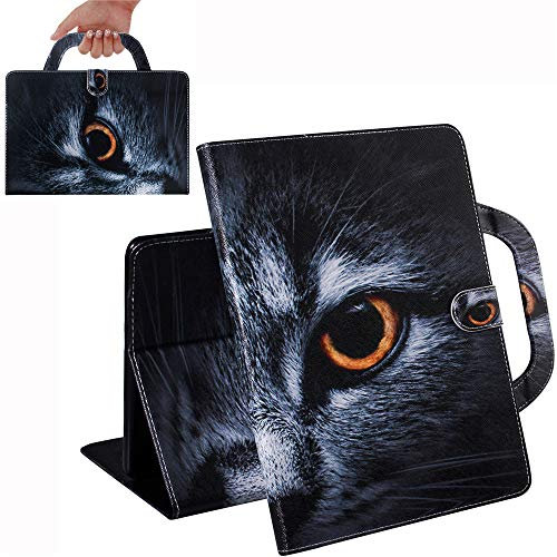 Bestcatgift [Fashion Handbag PU Leather Kindle Paperwhite 1 Flip Wallet Hülle [Painting Series] Tablet Folio Wallet Cover Für Amazon Kindle Paperwhite 1/2/3/4 - Cat Face