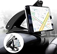 Car Phone Holder, Cell Phone Mount for Car Dashboard Clip Non-Slip Durable Compatible for iPhone 12 11 Pro Max