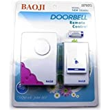 KOLD FIRE Koldfire Baoji Cordless Wireless Calling Remote Door Bell For Home Shop Office (Multi-Design & Multi-Colour)