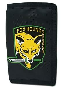 Metal Gear Solid - Fox Hound Geld-Börse Geldbeutel Portemonnaie US Import Original & Lizensiert