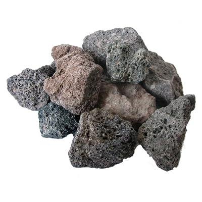 25 kg Lavamulch Lavasteine 16-32 mm Filterlava Lavagranulat Granulat Lava Steine Mulch