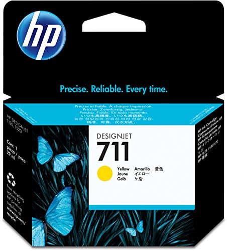 Preisvergleich Produktbild HP 711 Gelb Original Druckerpatrone (29 ml) für HP DesignJet