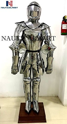 Medieval Knight Suit Of Armor Wearable Halloween Full Body Armour Costume
