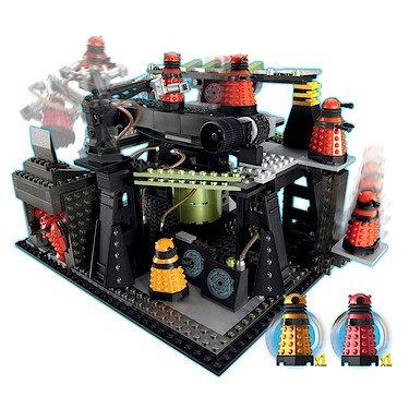 Character Building Doctor Who Dalek Fabrik (Gürtel Dr Who)