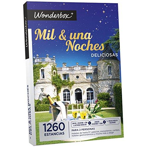 "'Cofanetti regalo estancias Mil & una Noches deliciosas di Wonderbox """