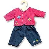 Heless 1504Heless Jacke mit Jeans für kleine Puppe, Farblich Sortiert