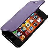 Blueway ETUICOXIP5MIFM Etui folio pour iPhone 5/5S Violet