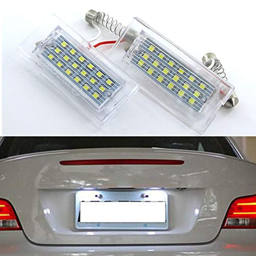 Muchkey LED Auto Lampadina Canbus Sensa Errore LED luci dellautomobile Bulb per Mondeo LED per la Luce Interna Dellauto Bianco 7 Pezzi