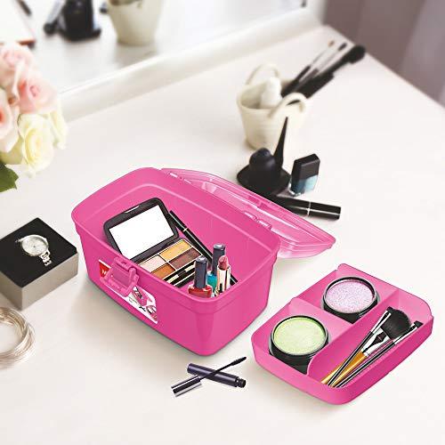 Milton Plastic Multi-Purpose Box, Pink