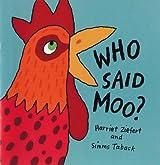 Who Said Moo?