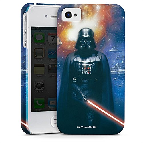 Apple iPhone 5c Tasche Hülle Flip Case Star Wars Merchandise Fanartikel The Dark Side Premium Case glänzend