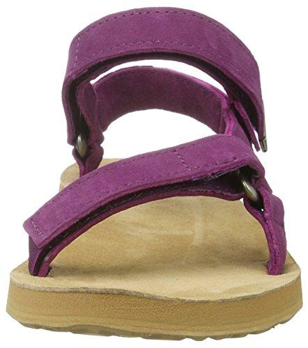 Teva W Original Universal Suede, Sandales Plateforme Femme Violet (Dark Purple Dapu)