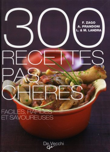 300 recettes pas chres