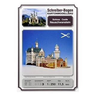 Aue-Verlag 59 x 20 x 30 cm Neuschwanstein Castle Model Kit