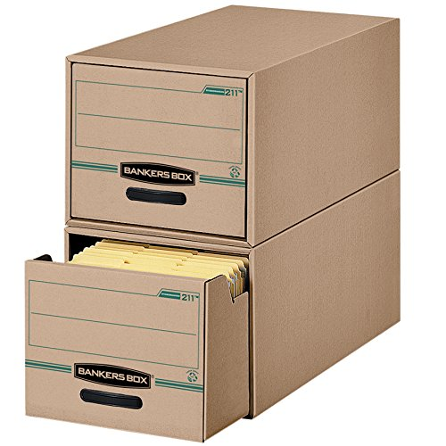 Bankers Box STOR/Schublade 100% Recycling Schubladen, Buchstabe, 6Pack (00211)