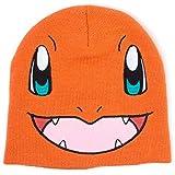 Pokemon Bonnet Charmander Face Nouveau Officiel Orange Nintendo
