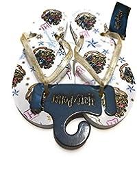 08860be064 Primark Ladies Girls Womens Harry Potter Flip Flops Toe Summer Thongs Beach  Sandals UK S-L Sold by…